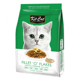 Kit Cat Fillet 'O' Flakes (Increase Appetite) Dry Cat Food