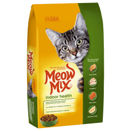 Meow Mix Indoor Health Adult Cat Dry Food 6.44kg