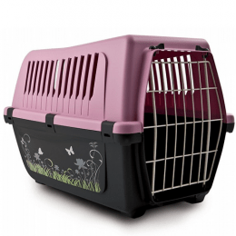 Bergamo Cat Pet Carrier Transport Cage Assorted Colors
