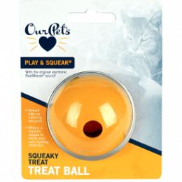 OurPets Squeaky Treat RealMouse® sound