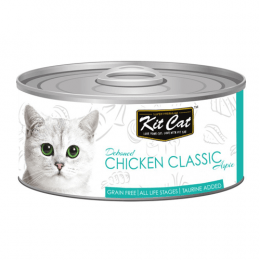 Kit Cat Deboned Chicken Classic Can 24x80g