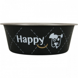 Zolux Black Stainless Steel Bowl For Dogs