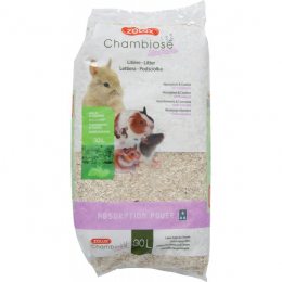Zolux Chambiose Nature Absorbent Litter for Small Animals 30L