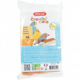 ZOLUX CRUNCHY CAKE BISCUITS X 6