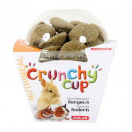 ZOLUX Crunchy Cup Treats for Rodents