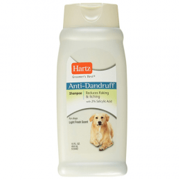 Hartz Anti Dandruff Dog Shampoo 444ml