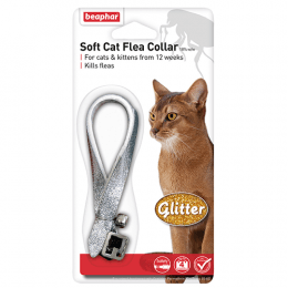 Beaphar Soft Cat Flea Collar- Glitter