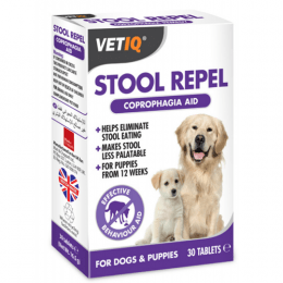M&C Stool Repel Coprophagia Aid 30 Tablets