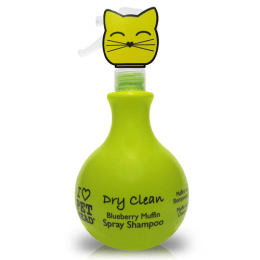 PET HEAD Cat Dry Clean Blueberry Muffin Spray Shampoo 450ml
