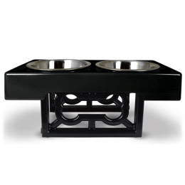 Our Pets Feeder Barking Bistro Pet Bowl