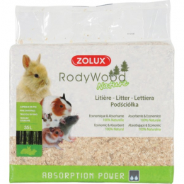 ZOLUX Rody Wood Nature Litter 35L