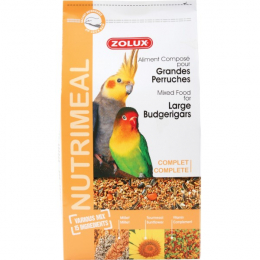 Zolux Nutrimeal Food Large Parakeets
