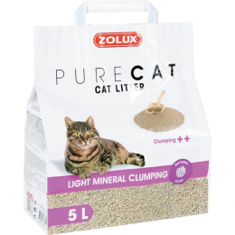 "Zolux ""Pure Cat"" Light Clumping Unscented Litter"