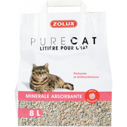 Zolux Pure Cat Absorbent Scented Litter 8L