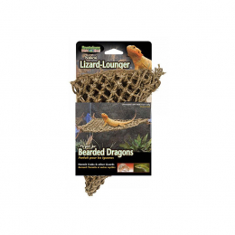 Penn Plax Natural Lizard Lounger Hammock Corner Small