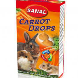 Sanal Carrot Drops for Rodents 45g