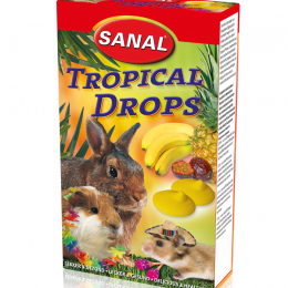 Sanal Tropical Drops for Rodents 45g