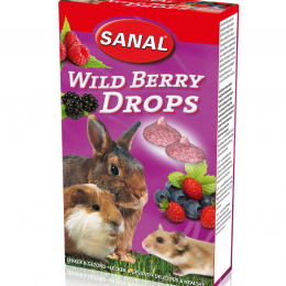 Sanal Wild Berry Drops for Rodents 45g