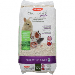 Zolux Scented Chambiose Bedding for Small Animals 30L
