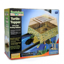 Reptology Life Science Turtle-Topper Above-Tank Basking Platform