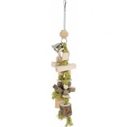 "Zolux Wooden Toy for Parrots/Large Parakeets ""Callao"""