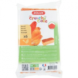 ZOLUX Crunchy Cake Tasty snack for ACTICOLOR birds x 6